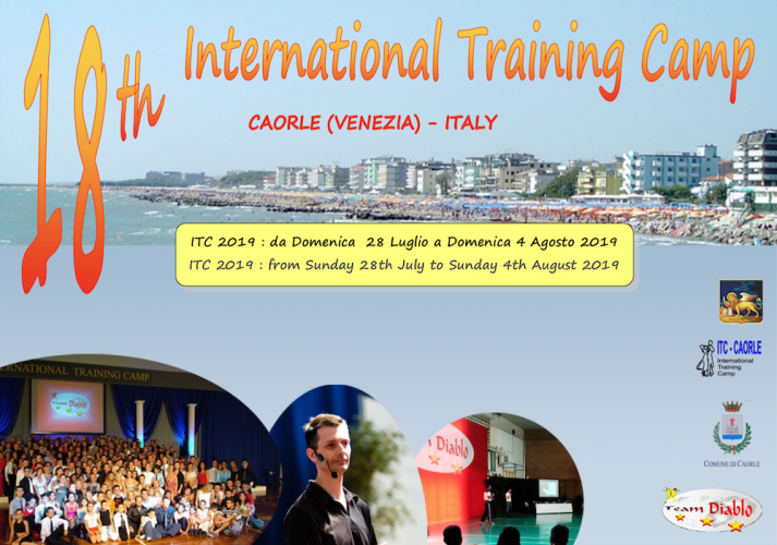 EVENTO: 18° International Training Camp di Caorle